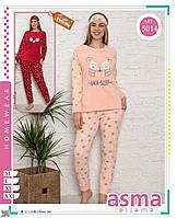 Пижама женская махровая размер норма M-2XL (от 4 шт)