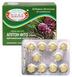 Апитон фито с хвоей (добавка диетическая),  противовоспалительное, антибактериальное, общеукрепляющее средство