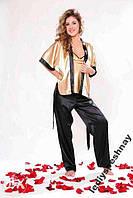 Роскошная атласная пижама - Тройка !!! В наличии