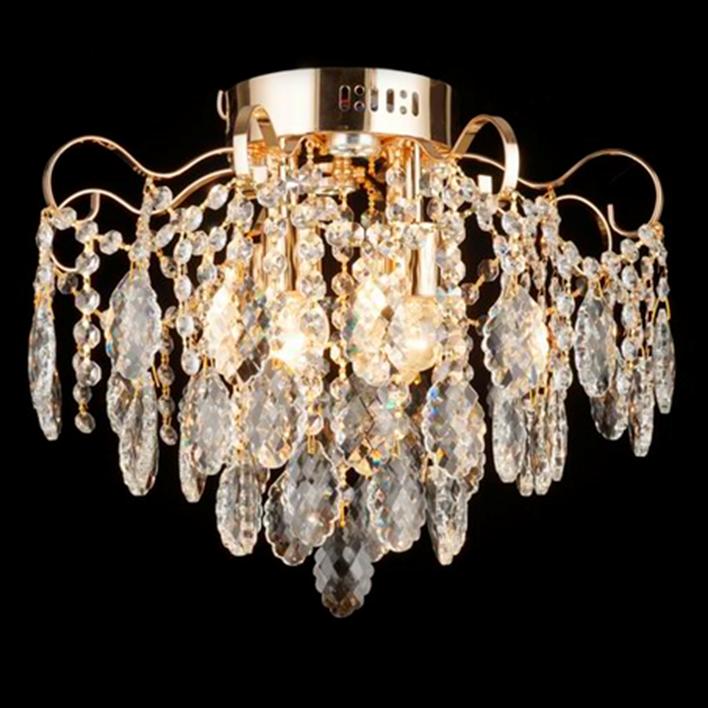 Люстра хрустальная 3-E2025/4+4 на 4 лампочки