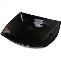 Quadrato Black Тарелка глубокая квадратная 20 см Luminarc H3671