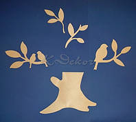 Набор для декора №1 заготовки для декупажа и декора