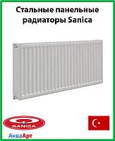 Стальной радиатор Sanica 11k 300*400 б.п.