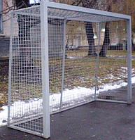 Ворота для минифутбола или гандбола 3000х2000 стальные, антивандальные, фото 1