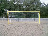 Ворота для пляжного футбола 5500х2200 (разборные), с дугами, фото 1