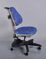 Детское кресло Mealux Y-317 BB синее с жучками