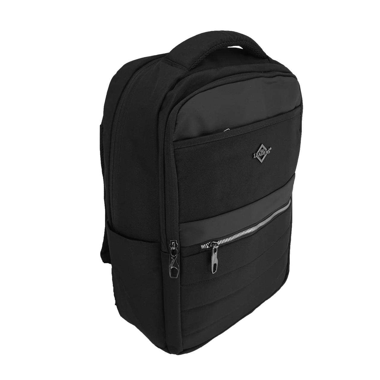 Міський рюкзак для ноутбука з AUX,USB Leadfas
