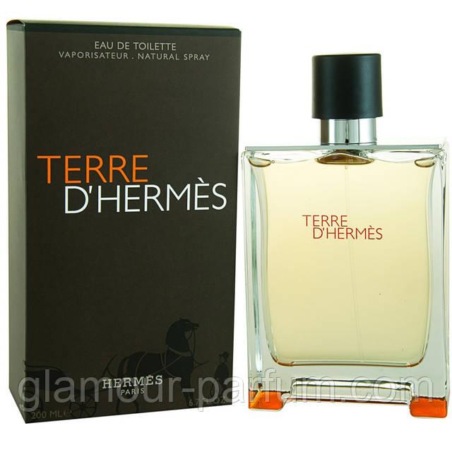 Парфюмированная вода для мужчин Hermes Terre D`Hermes (Гермес Терре Де Гермес)
