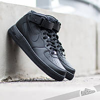 "Кроссовки Nike Air Force 1 Mid ""Black"""