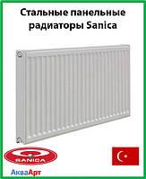 Стальной радиатор Sanica 11k 500*1000 б.п.