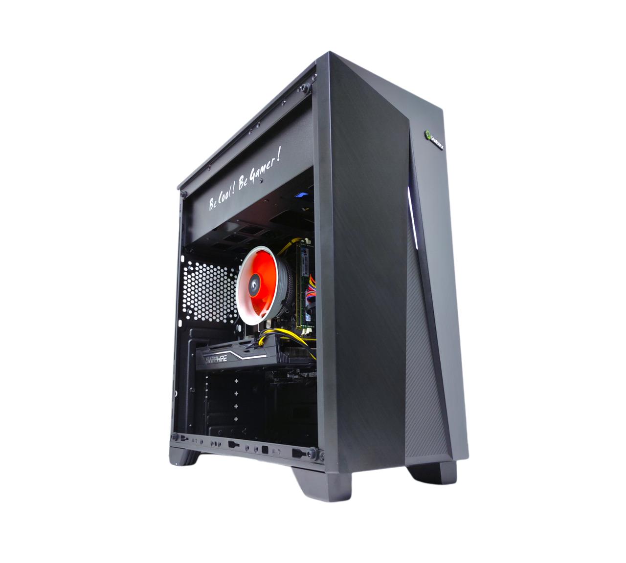 Ігровий Комп'ютер Intel Xeon E5-2440 16GB DDR3 SSD240GB  Sapphire Radeon RX 470 4GB GDDR5