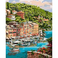 Картина по номерах Мальовнича бухта 40*50 см