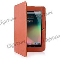"""Чехол для 7"""" планшета Ainol Novo 7 Crystal 2 (коричневый). Доставка Укрпочтой бесплатно."""