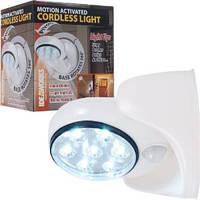 Беспроводной светильник с датчиком движения Motion Activated Cordless Light