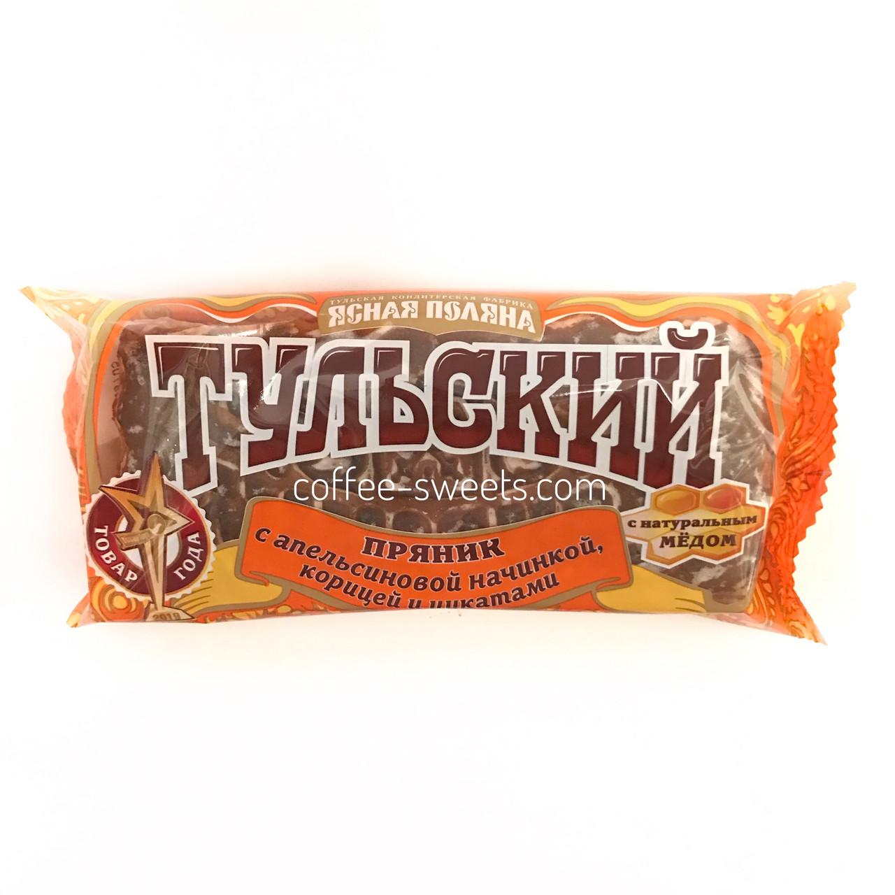 Тульський Пряник (з апельсиновою начинкою, корицею і цукатами) Ясна Поляна 140 гр