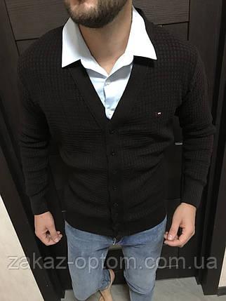 Кардиган мужской оптом (M-XL)Турция-82120, фото 2