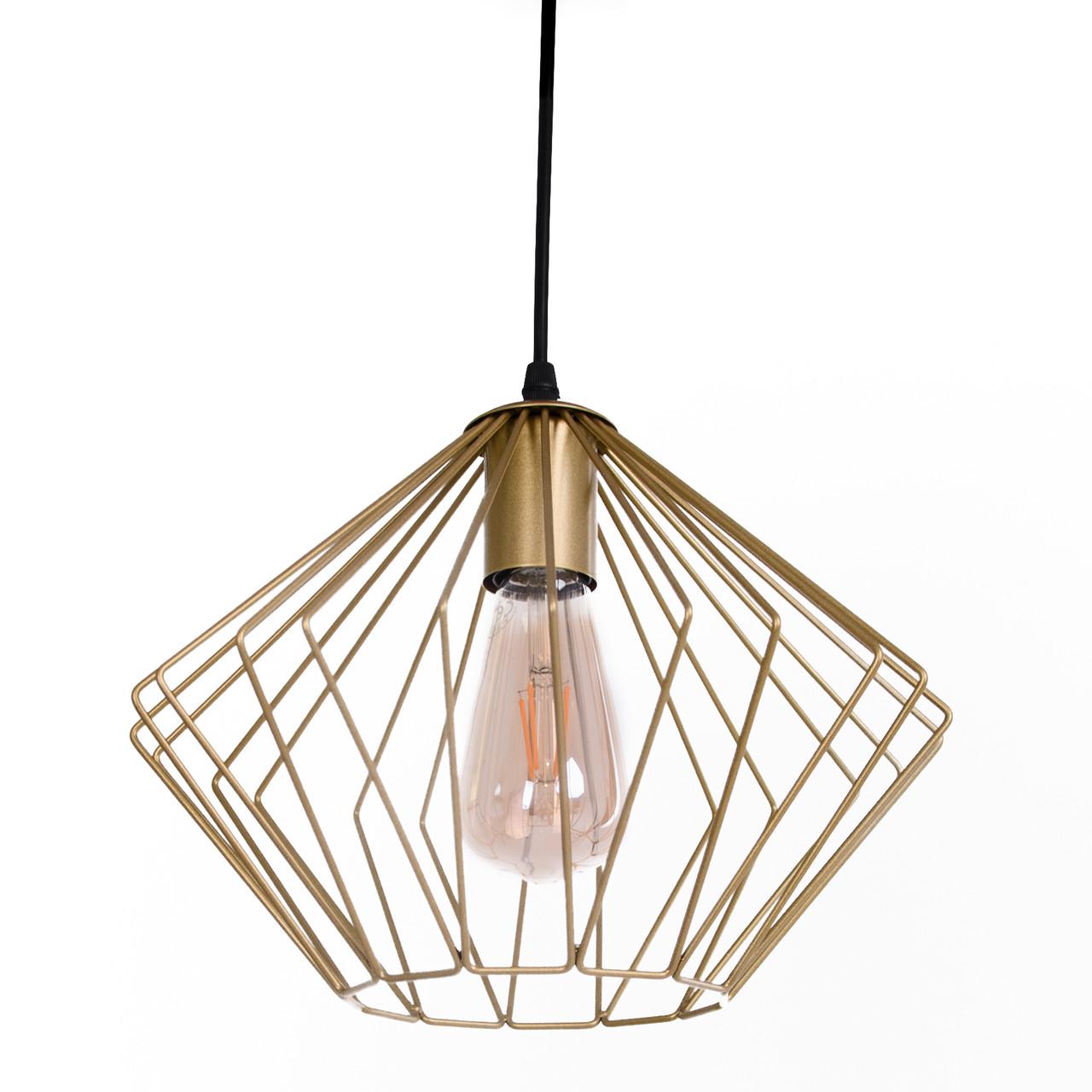 Потолочный подвесной светильник Atma Light серии Rhomb-S P300 Gold