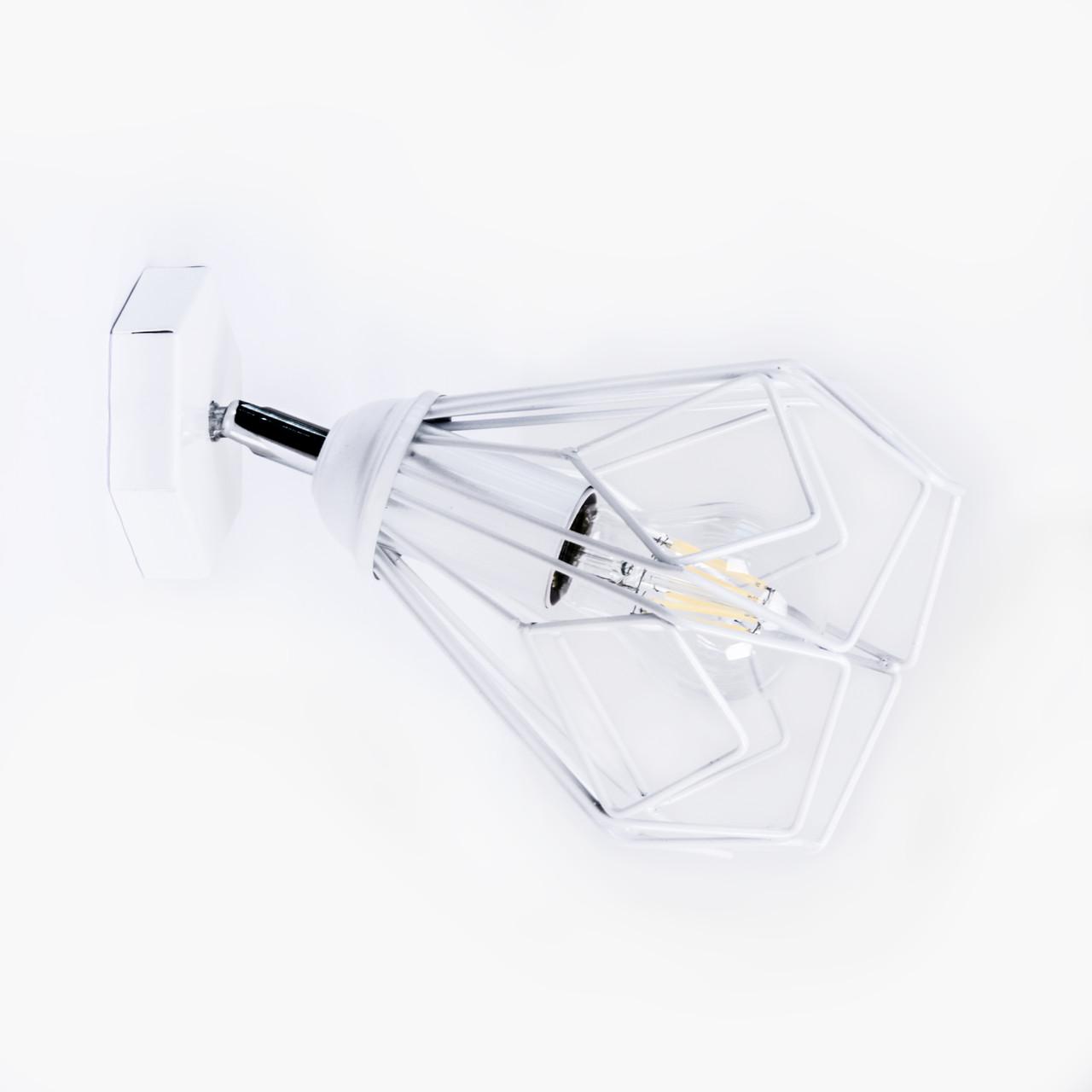 Бра Atma Light серії Bevel W165 White