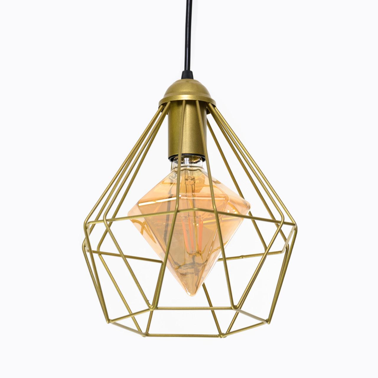 Підвісний світильник стельовий Atma Light серії Crystal P235 Gold