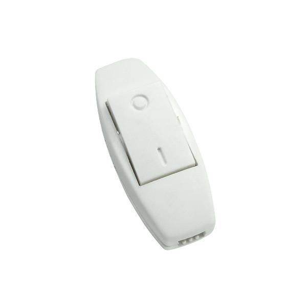 Выключатель УТОС для бра 2.5А белый