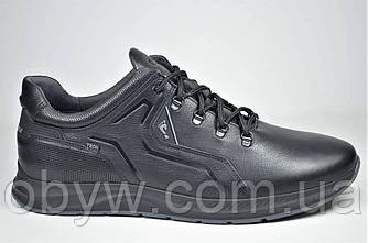 Осіннє шкіряне чоловіче взуття demi sizon shoes.