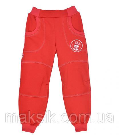 Тёплые спортивные штаны для девочки р.116-128, фото 2