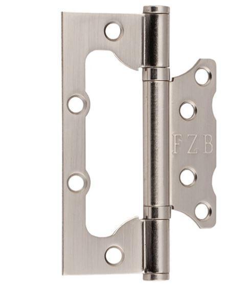 Петля дверна метелик FZB & 100*75*2.5 мм SN Сатин