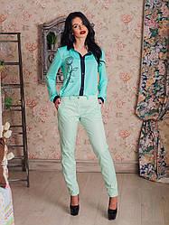 Женские брюки стильные летние