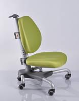 Детское кресло Mealux Y-517 SKZ метал серебристый, обивка зеленая