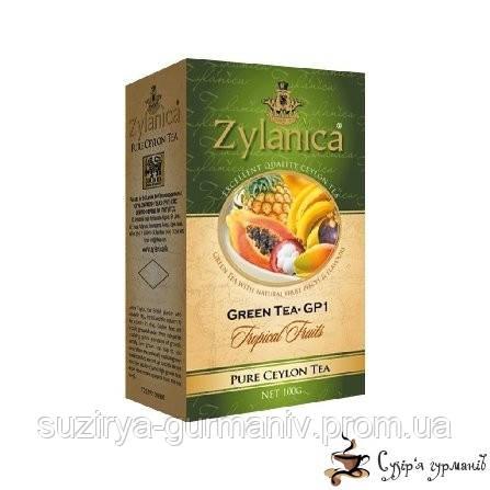 Зеленый чай Zylanica Тропик GP1 100г
