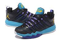 Баскетбольные кроссовки Nike Air Jordan CP3.IX 9 black-blue
