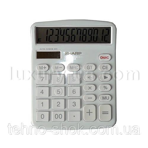 Калькулятор Sharp 237, двойное питание