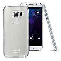 Чехол накладка пластик IMAK для Samsung Galaxy S6 G920 прозрачный
