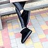 Ультра низькі чорні замшеві жіночі низькі уггі натуральна замша, фото 3