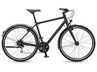 "Велосипед Winora Flitzer men 28"" 24-G Acera, рама 56 см , чорний матовий, 2021, фото 1"
