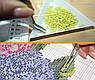 Набор алмазной вышивки Бабочка на ветке с цветами KLN 20 х 40 см (арт. FS040) , фото 2
