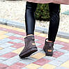 Модні низькі бежеві мокко замшеві жіночі низькі уггі натуральна замша, фото 2
