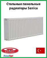 Стальной радиатор Sanica 22k 300*2200 б.п.