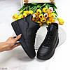 Шикарные теплые черные спортивные женские ботинки кроссовки зима 2021, фото 8