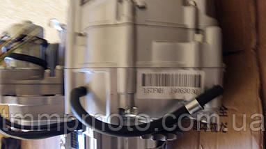 Двигатель Дельта / Альфа 125 куб см  54мм алюминиевый цилиндр механика  чёрный, фото 3