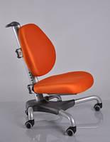 Детское кресло Mealux Y-517 SKY метал серебристый, обивка оранжевая