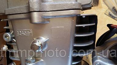 Двигатель АКТИВ-125сс алюминиевый цилиндр полуавтомат  ОРИГИНАЛ, фото 3