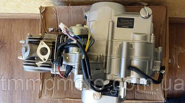 Двигатель АКТИВ-125сс алюминиевый цилиндр полуавтомат  ОРИГИНАЛ, фото 2