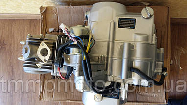 Двигатель Актив Дельта-125см3 54мм алюминиевый цилиндр полуавтомат  NEW, фото 2