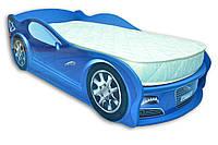 Кровать машина JAGUAR синяя Mebelkon