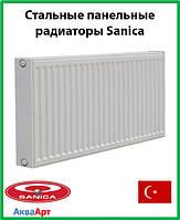 Стальной радиатор Sanica 22k 500*800 б.п.