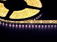 Светодиодная лента 3528 120 LED желтая 4.0-4.5 Lm/LED влагозащищена IP65