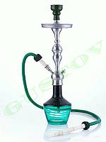 Кальян Aladin - Lima Black Green. 66 см
