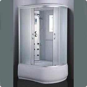 Гидромассажный бокс BADICO ECO 180012W левосторонний 120х80х215 с глубоким поддоном
