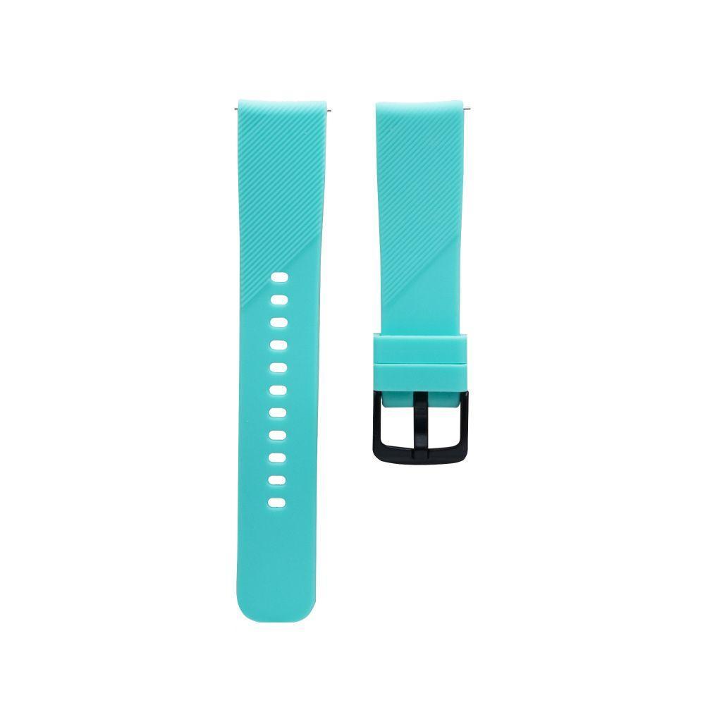 Ремінець Sport для смарт-годин Xiaomi Amazfit Bip | Bip S | Bip Lite | GTR, бірюзовий (20мм)